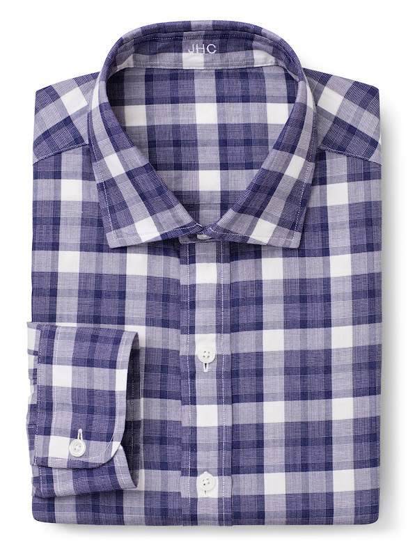 Purple Mélange Plaid