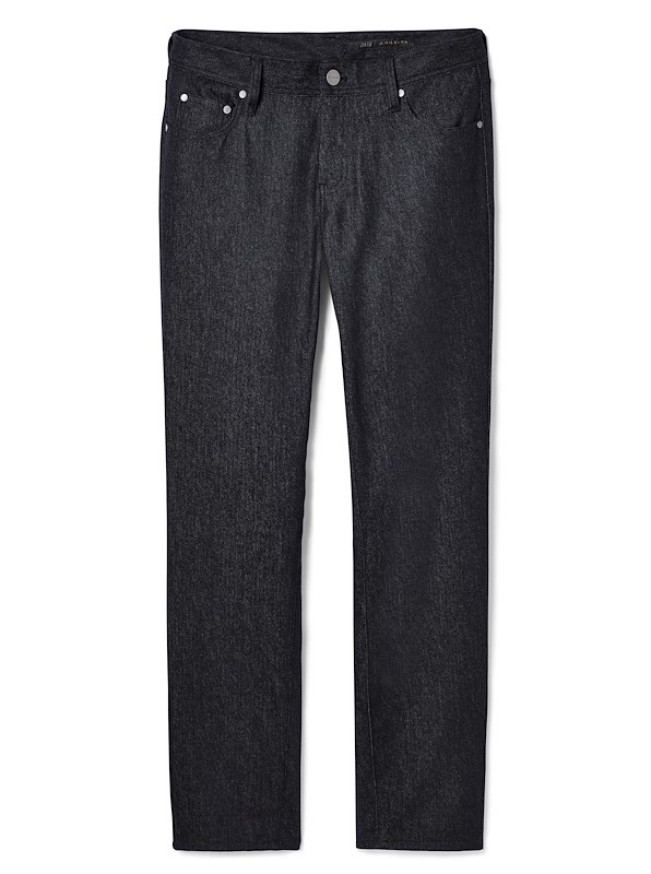 Black Trofeo Wool Twill 5-Pocket