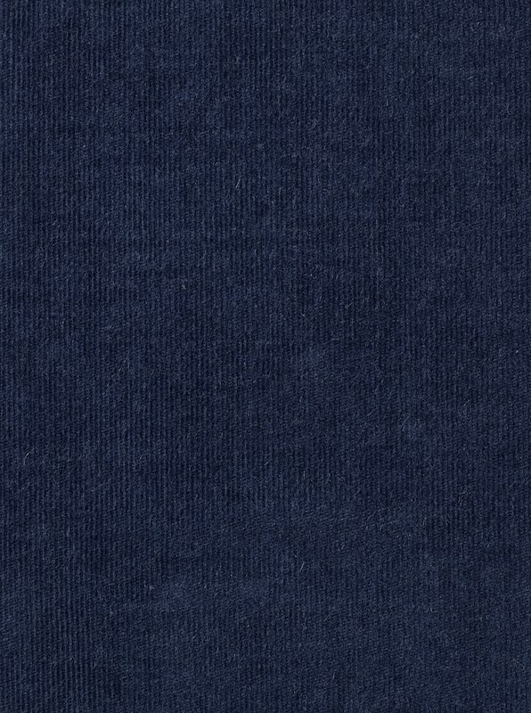 Storm Blue Cotton/Cashmere Corduroy