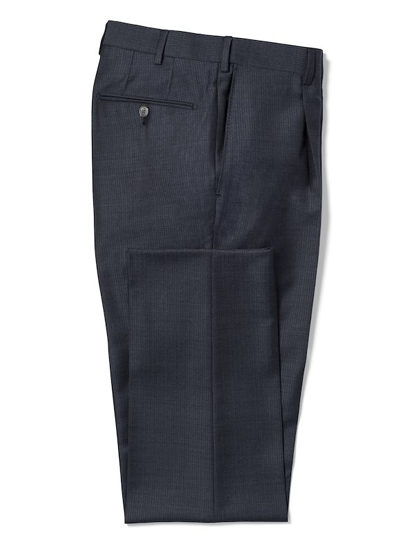 Navy Tonal Thin Stripe